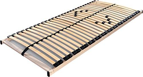 Betten ABC Lattenrost Max 1 NV zur Selbstmontage Lattenrahmen - Betten ABC Lattenrost Max 1 NV zur Selbstmontage / Lattenrahmen in 90 x 200 cm mit 28 Leisten und Mittelzonenverstellung - geeignet für alle Matratzen